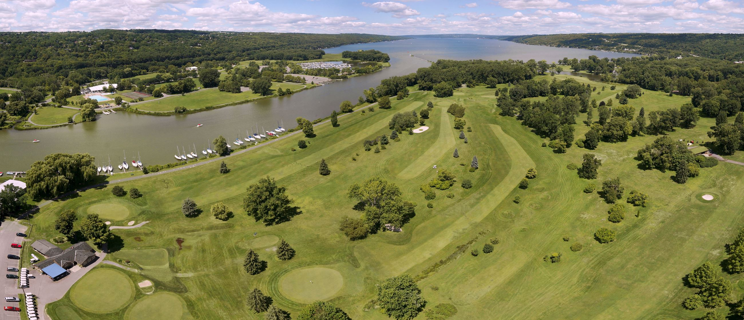 Newman Municipal Golf Course - Aerial View