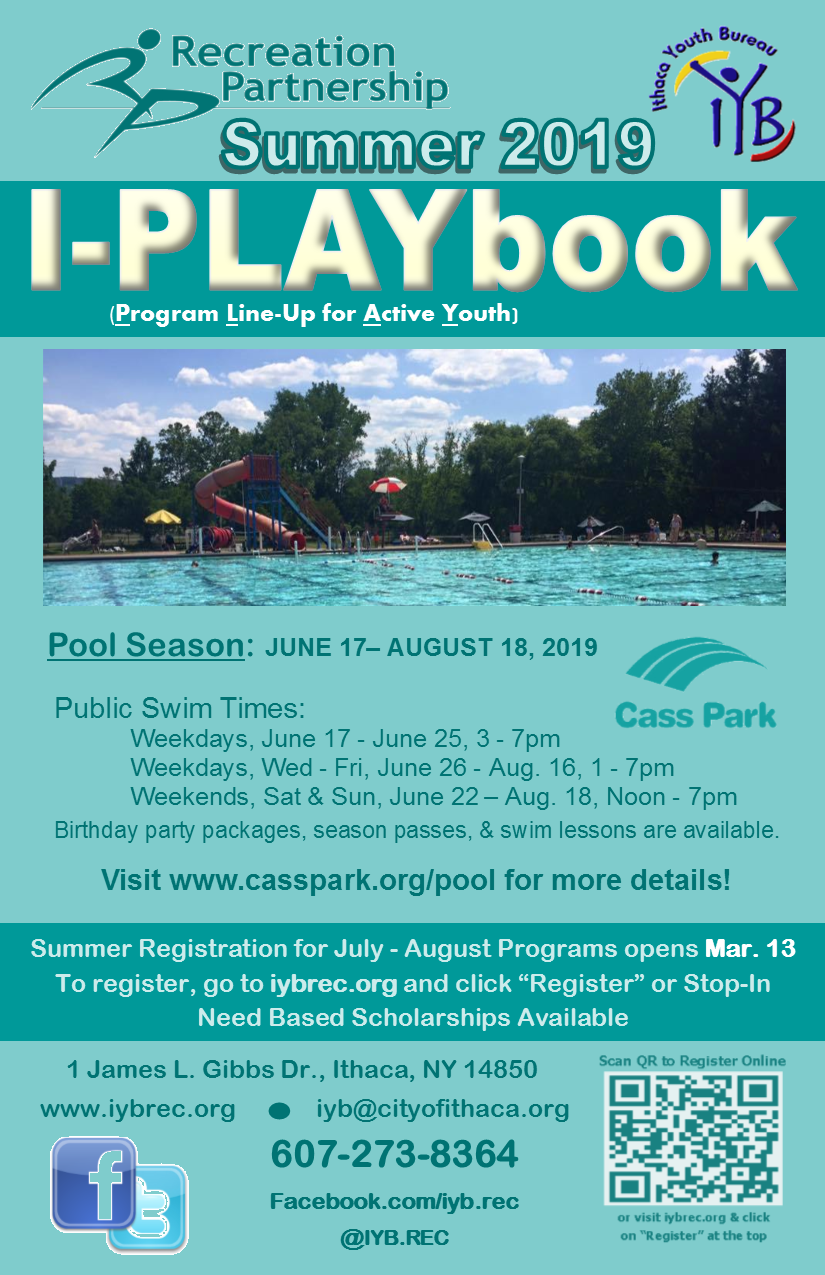 2019 Summer I-PLAYbook Cover
